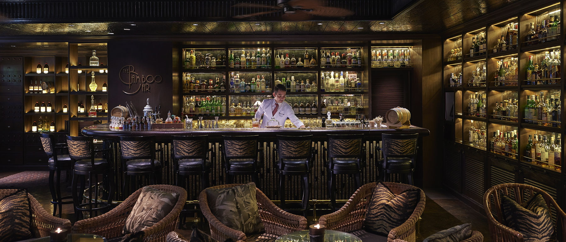 The Bamboo Bar Bangkok Best Luxury For Drinks And Live Music